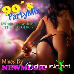 90's Party Mix (Mixed By Newmusic) -2009-