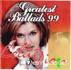 CELIN DION-GREATEST BALLADS'99 (1999)