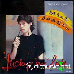 MICK JAGGER - LUCKY IN LOVE (1985)