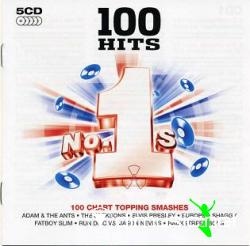 100 Hits No.1s - 100 Chart Topping Smashes 5CD (2008)