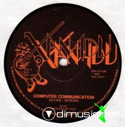 R.E.M. - Computer Communication -Single 12'' - 1983