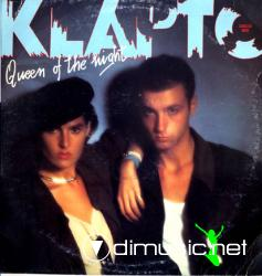 Klapto - Queen Of The Night - Single 12'' - 1984