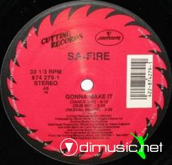 Sa-Fire - Gonna Make It [12'' Vinyl 1989]