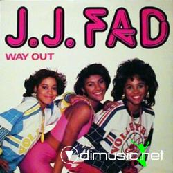 Cover Album of J.J. Fad - Way Out [12'' Vinyl 1988]