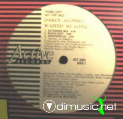 Darcy Alonso - Waited So Long [12'' Vinyl 1989]
