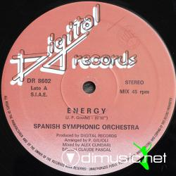 Spanish Symphonic Orchestra - Energy - Computer Game - Single 12'' - 1986