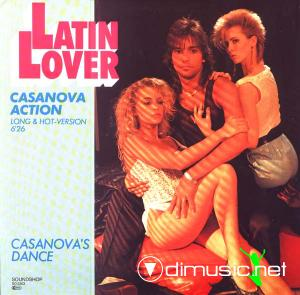 Latin Lover - Casanova Action (12'' Single) (1985)