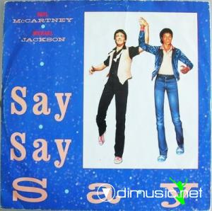 Paul McCartney & Michael Jackson - Say Say Say 1983