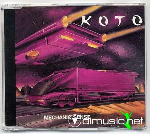 Koto - Mechanic Sense  - Maxi Single - 1992