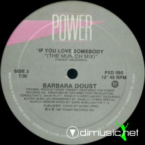 Barbara Doust - If You Love Somebody (12'' Vinyl) (1987)