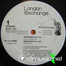 London Exchange - Memories Of You [12'' Vinyl 1988]