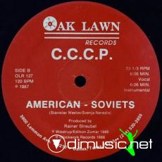 C.C.C.P. - American Soviets [The Cameron Paul Remix] [12'' Vinyl 1987]