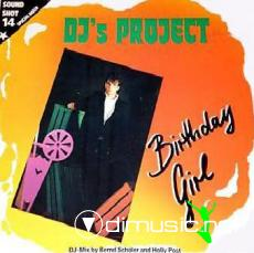 DJ'S Project - Birthday Girl - Single 12'' - 1986