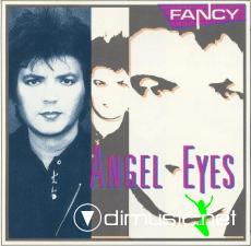 FANCY-Angel Eyes  (1989 Maxi-Single)