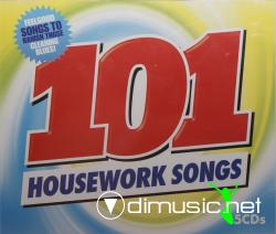 101 Housework Songs 5CD's (2009)