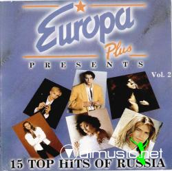 VARIOUS-EUROPA PLUS PRESENTS VOL.2-15 Top Hits Of Russia (1994)