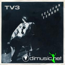 TV3 - Telefonterror  - Single 7'' - 1980