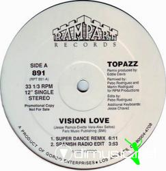 Topazz - Vision Love (Single 12