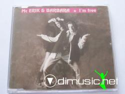 Mc Erik & Barbara - I'm Free (Single) (1995)