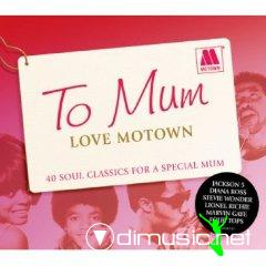 Various - To Mum Love Motown (CD)
