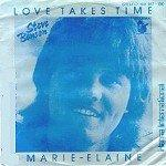 Steve Benson  - Love Takes Time  - Single 7'' - 1981