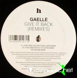 Gaelle* - Give It Back (Remixes)
