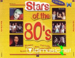Stars Of The 80 [3 cds] (Various Artists)