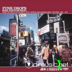 Various - Funk Drops: Breaks, Nuggets And Rarities (CD) 3XCD