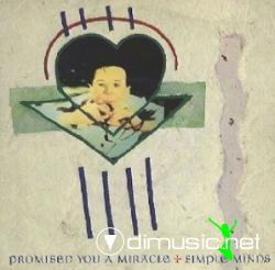Simple Minds - Promised You a Miracle - Single 12'' - 1981