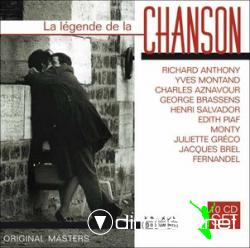 "(VA) La l?©gende de la chanson ??"" Box set of 10 CDs (2005)"