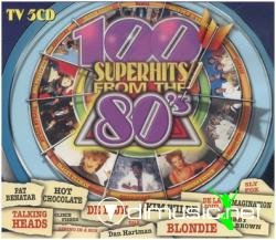100 Superhits From The 80s vol 1 -5CD-1998