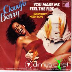 Claudja Barry - You Make Me Feel The Fire - Single 7'' - 1979
