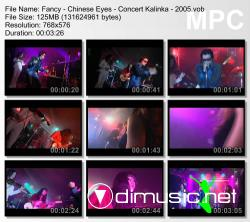 Fancy - Chinese Eyes - Concert Kalinka - 2005