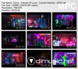 Fancy - Flames Of Love - Concert Kalinka - 2005