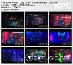Fancy - Lady Of Ice - Concert Kalinka - 2005