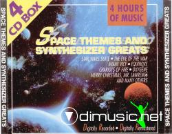 VARIOUS - SPACE THEMES AND SYNTHESIZER GREATS (4Cd) (1990)