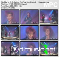 C. C. Catch - Are You Man Enough - Hitparade