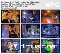 C. C. Catch - Nothin' But A Heartache, Backseat Of Your Cadillac '88 [live DDR]