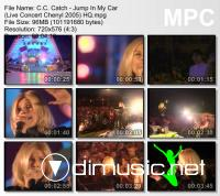 C.C. Catch - Jump In My Car - Live Concert Chenyl -  2005