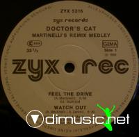 Doctor's Cat - Martinelli's Remix Medley - Single 12'' - 1985