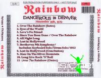 Rainbow - Dangerous In Denver Live November 1979