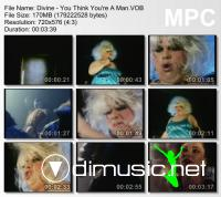 Divine - You Think You're A Man - Clip