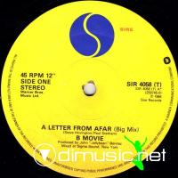 B-Movie - A Letter From Afar (Big Mix) (1984)