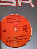 "Angie St. Philip - Light Up My Heart 12"" (1985)"