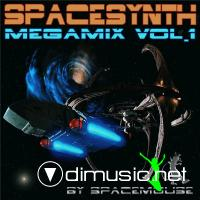 DJ SpaceMouse - SpaceSynth Megamix - vol. 01