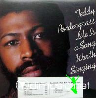 Teddy Pendergrass ???Life Is A Song Worth Singing???