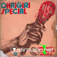 UBO JAZZ BAND OF AFRICA - OHAIGIRI SPECIAL (ANODISC RECORDS, ALPS 1068, 1981)