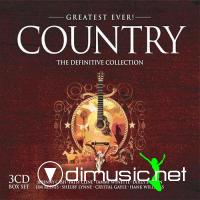 VA - Greatest Ever Country - The Definitive Collection 2007