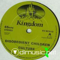 Culture - Disobedient Children - Single 12'' - 1981