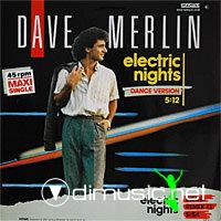 Dave Merlin - Electric Nights - Single 12'' - 1986